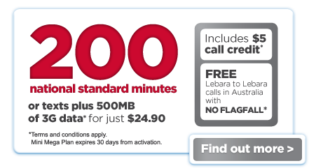 $29.90 Unlimited National Plan